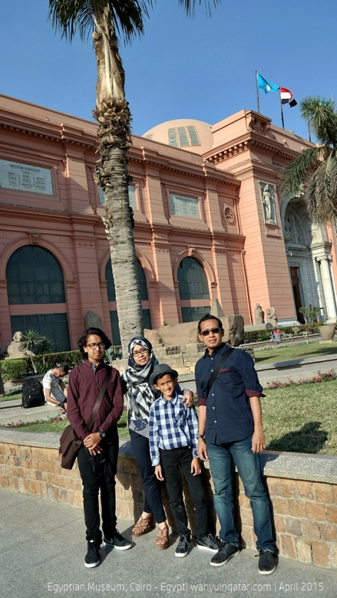 At Egyptian Museum
