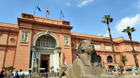 The Museum of Egyptian Antiquities, known commonly as the Egyptian Museum